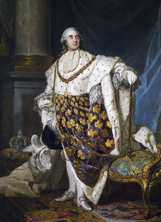 Antoine Francois Callet, Portrait of Louis XVI of France King of France and Navarre, 1779