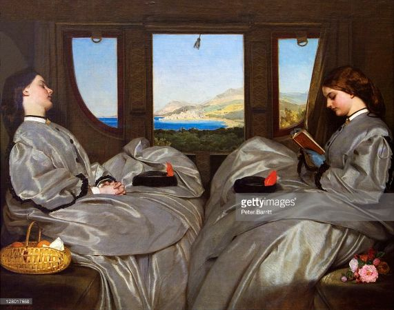 Augustus Egg, Travelling Companions, 1862