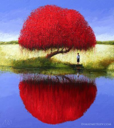 Dima Dmitriev, Afternoon Reflections