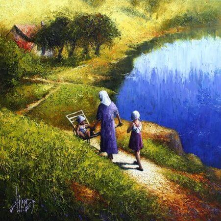Dima Dmitriev, Grandma
