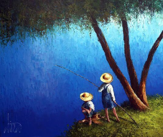 Dima Dmitriev, The Blue Pond