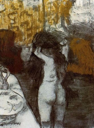 Edgar Degas - After The Bath I - 1877