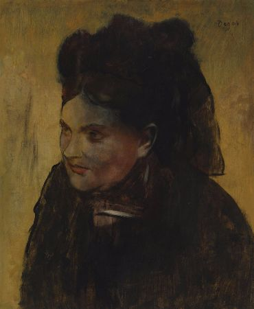Edgar Degas - Portrait Of A Woman - 1880