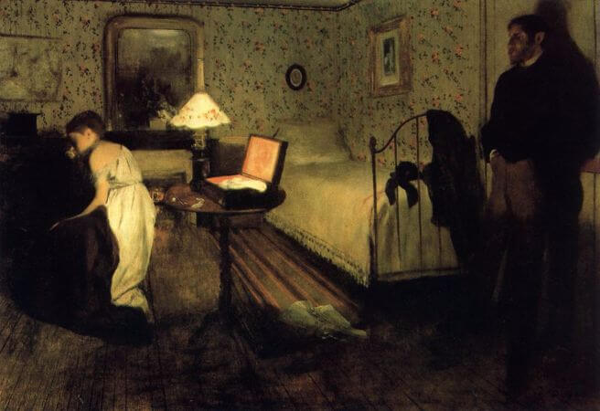 Edgar Degas - Rape