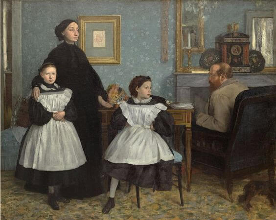 Edgar Degas - The Bellelli Family - 1867
