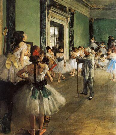 Edgar Degas - The Dance Class - 1874