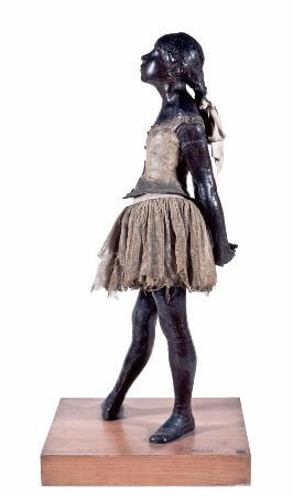 Edgar Degas - The Little Fourteen-year-old Dancer - 1881