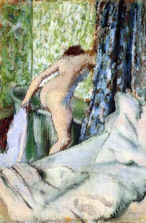 Edgar Degas - The Morning Bath, 1890