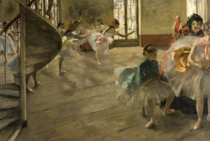 Edgar Degas - The Rehearsal - 1874