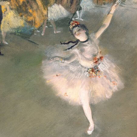 Edgar Degas - The Star - 1878