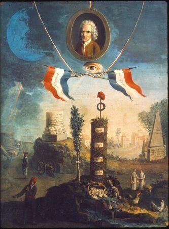Etienne Jeaurat, Jean Jacques Rousseau, 1793