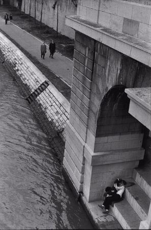 Henri Cartier-Bresson, Fransa, Paris, 1969