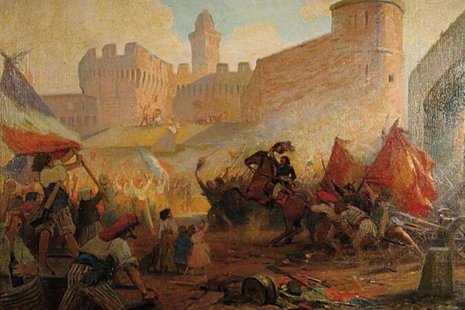 Henri-Paul Perrault, Prise De La Bastille
