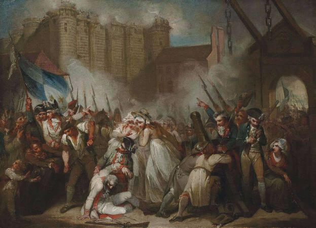 Henry Singleton, The Storming of The Bastille