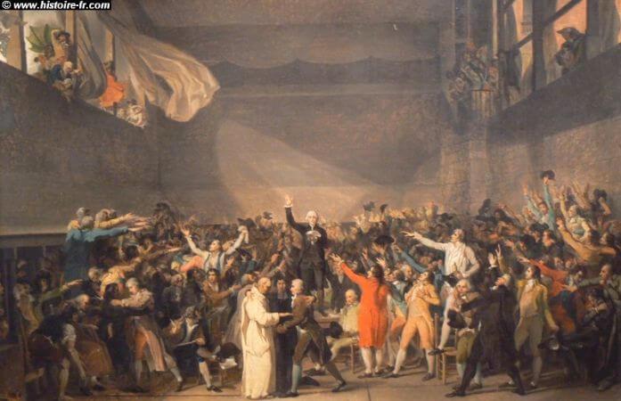 Jacques Louis David, Le Serment du Jeu de Paume, Le 20 Juin 1789