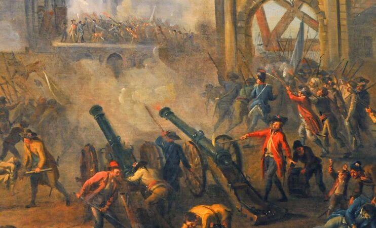 Jean-Baptiste Lallemand, Prise de la Bastille, 1790