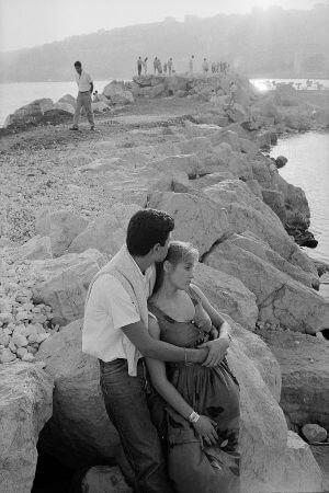 John Vink, italya, Napoli, 1985