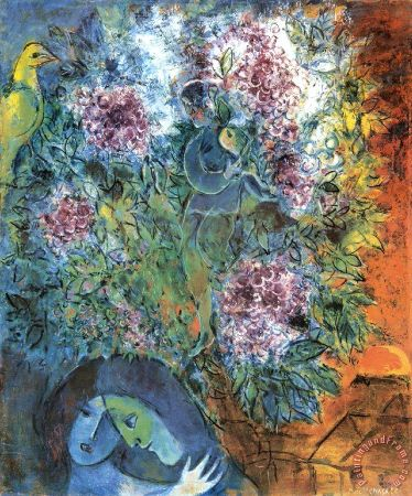 Marc Chagall, Enchantment Vesperal, 1957