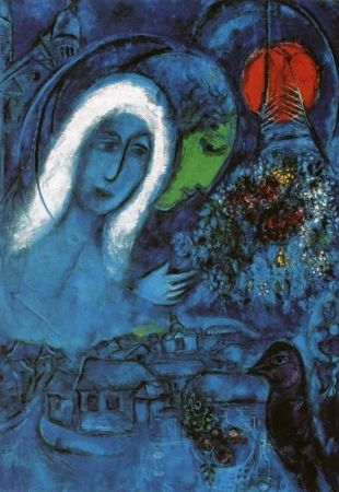 Marc Chagall, Field of Mars, 1954-55