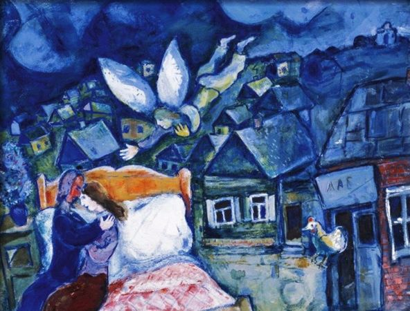 Marc Chagall, The Dream, 1939