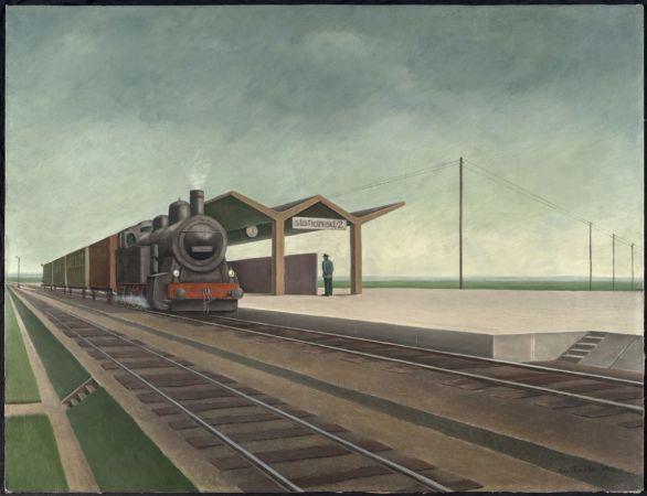 Max Radler, Station, 1933