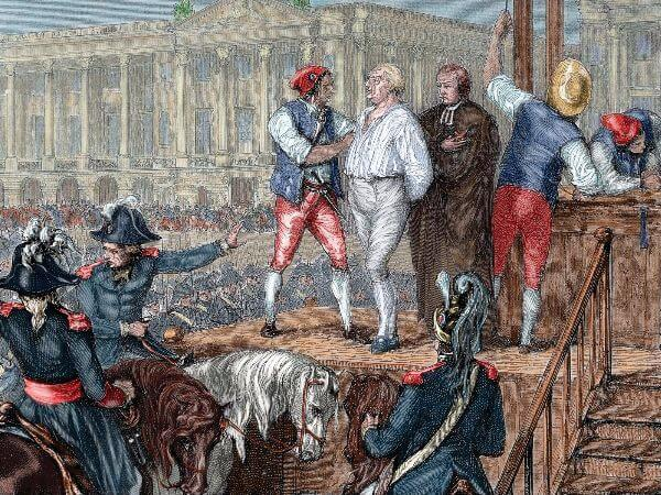 Miles Mathis, Louis XVI Execution By Guillotine