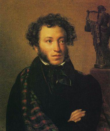 Orest Adamovich, Portrait of Alexander Pushkin