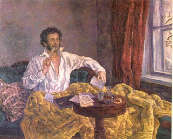 Pyotr Petrovich, Pushkin At Work