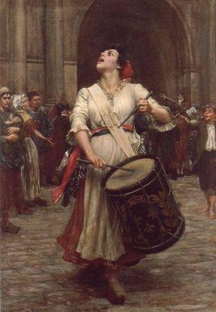 Valentine Cameron Prinsep, La Revolution, 1896