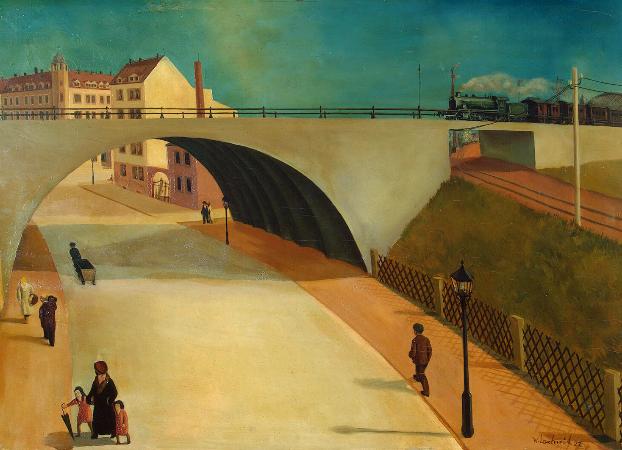 Wilhelm Lachnit, Bridge, 1927