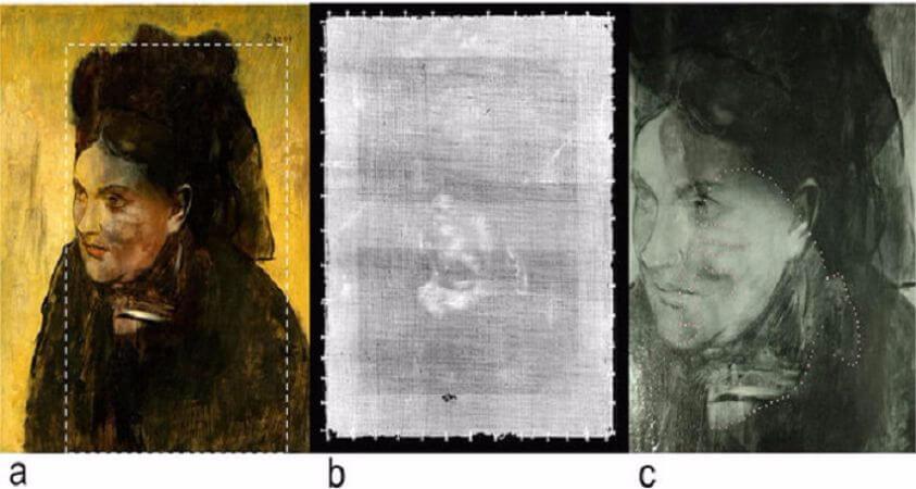 bir kadinin portresi