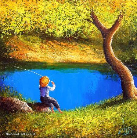 dima dmitriev - a mild summer day