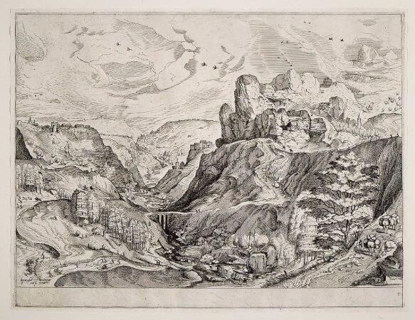 Alpine Landscape, 1555-56