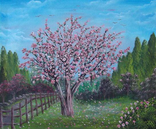 Bruno Patriarca, Spring Tree