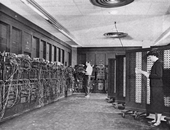 Dunyanin ilk bilgisayari eniac