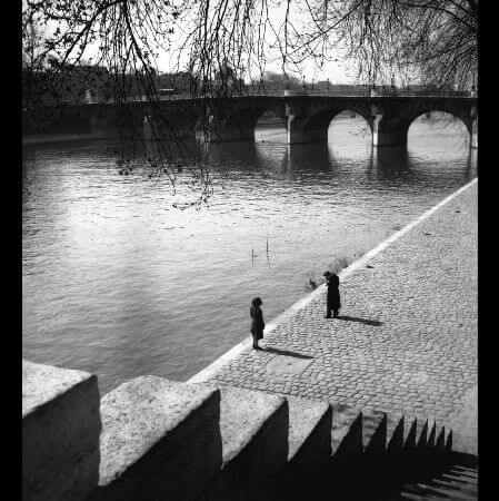 Edouard Boubat, Le Pont Neuf, Paris, 1948