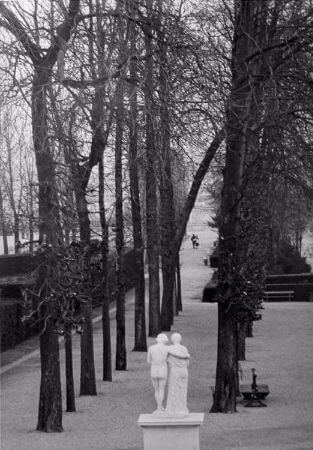 Edouard Boubat, Paris, Parc de Saint Cloud, 1981