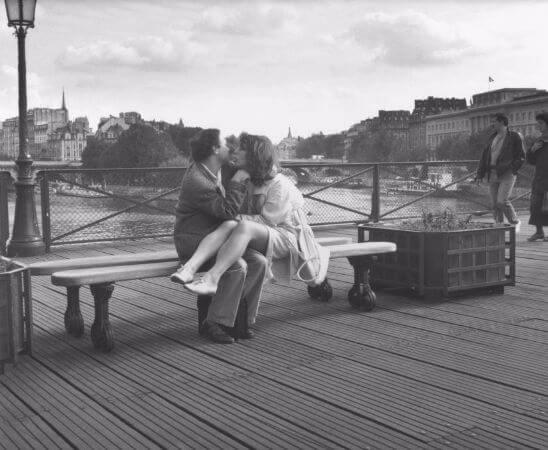 Edouard Boubat, Paris, Pont des Arts, 1990