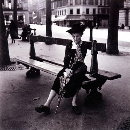 Edouard Boubat, Place St. Sulpice, Paris, 1947