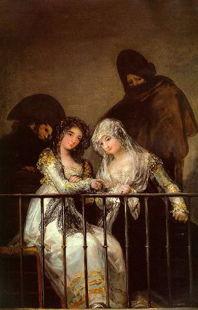 Francisco Goya, Majas On A Balcony, 1810