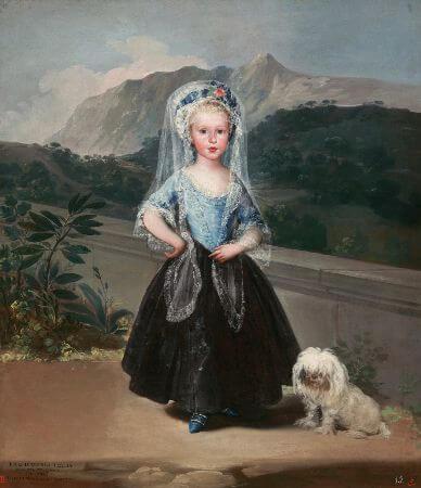 Francisco Goya, Maria Teresa de Borbon y Vallabriga (Condesa de Chinchon), 1783