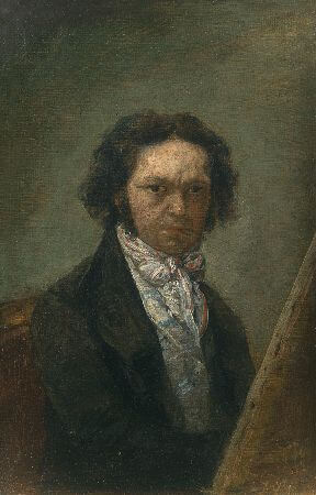 Francisco Goya, Self Portrait, 1797