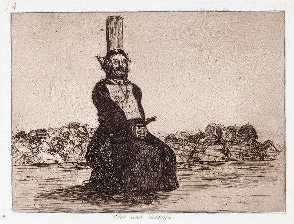Francisco Goya, The Disasters of War, No. 34