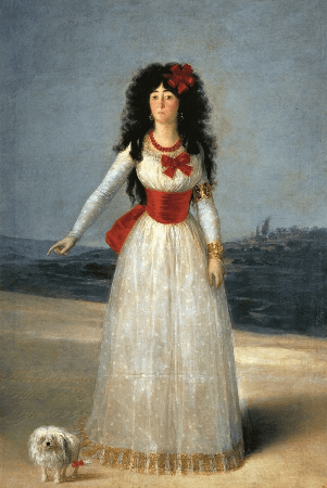 Francisco Goya, The Duchess of Alba, 1795