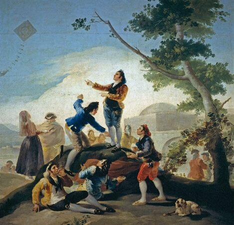 Francisco Goya, The Kite, 1778