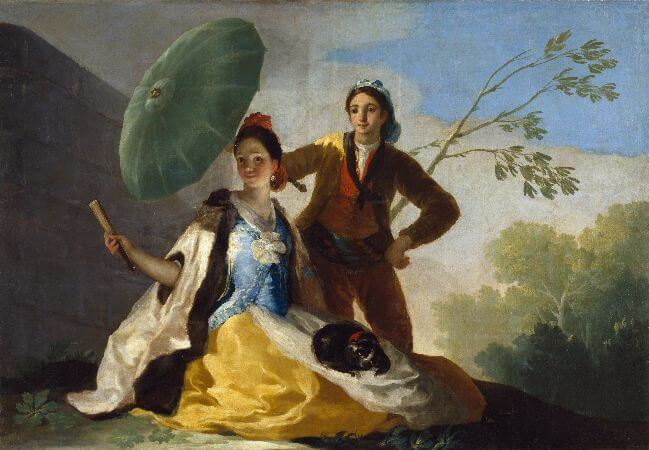 Francisco Goya, The Parasol, 1777