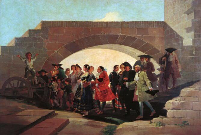 Francisco Goya, The Wedding, 1792