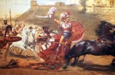 Franz von Matsch, Triumphant Achilles, 1892