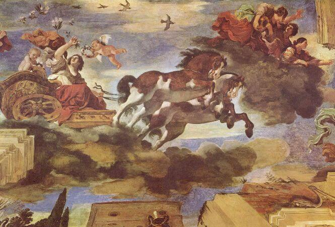 Guercino (Giovanni Francesco Barbieri), Aurora, 1621