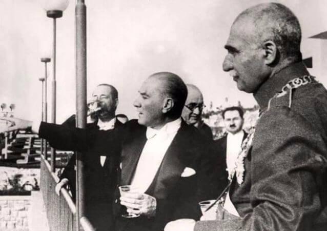 İran Sahi'nin Ziyareti, 17 Haziran 1934
